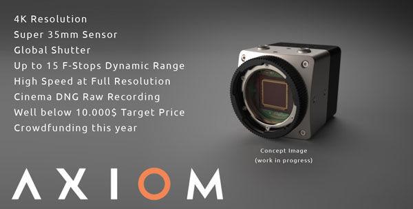 Open Source Camera: Apertus Axiom (VIDEO)