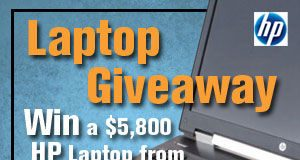 Win a Free HP Laptop for your Video Editing Needs