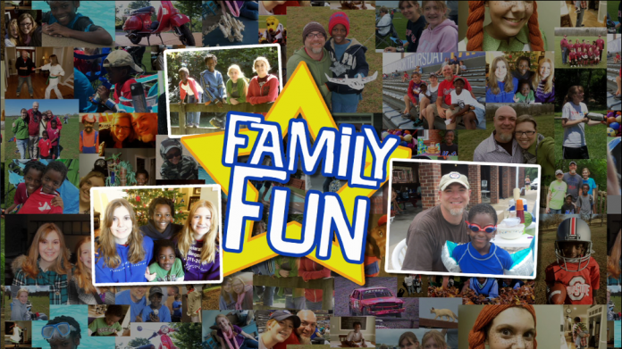 "Collage of photos for ""Family Fun"""