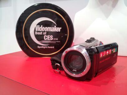 JVC GZ-R70 and a Videomaker Spotlight Award