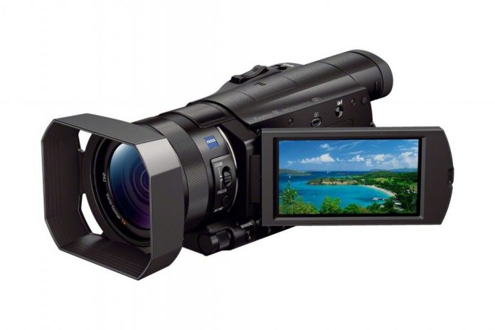 4k camcorder with bright images