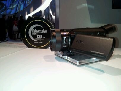 4k camcorder and award