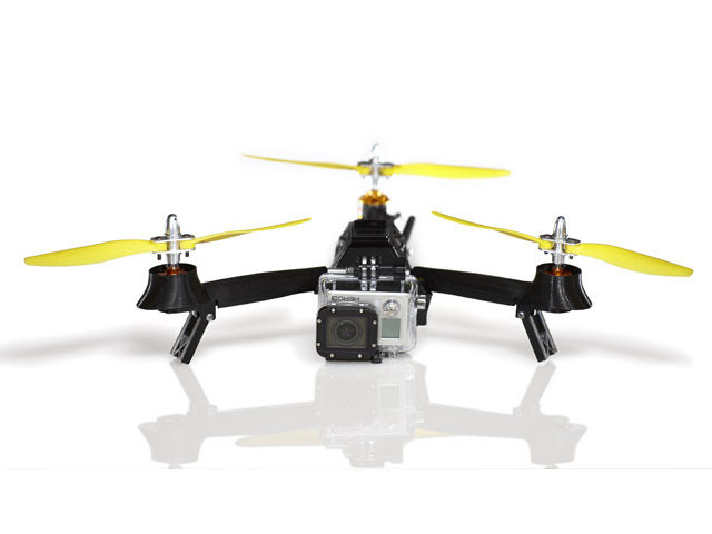 Lightweight aerial videography