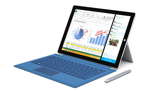Microsoft announced the Surface Pro 3