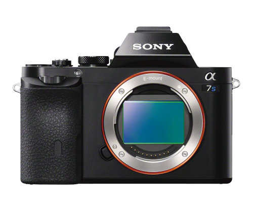 The Sony a7s is an ultra-sensative mirror less camera.