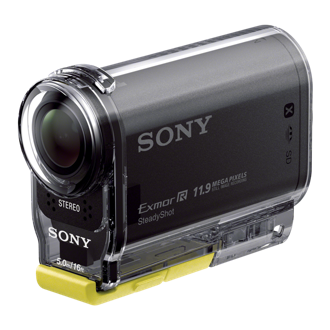 Sony Action Cam HDR-AS20 in Supplied Waterproof Case