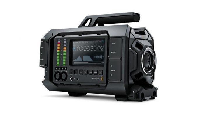 Blackmagic Design 4K URSA Interchangeable sensor camera