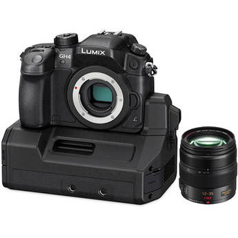 The Panasonic LUMIX DMC-GH4 Kit with YAGH Interface Unit and Kit Lens