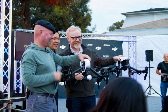 Mythbusters make an appearance