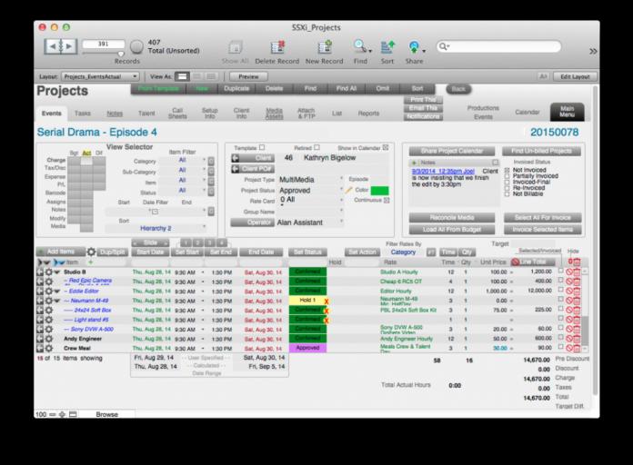 Studio Suite Xi - all-in-one studio management tool