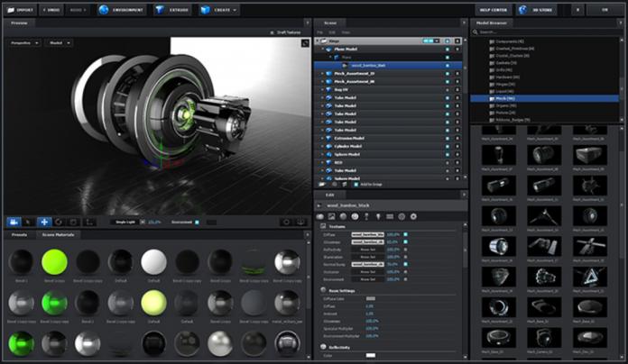 Video Copilot's Element 3D V2 Interface