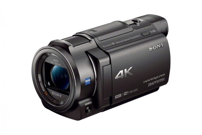 Small 4K camcorder