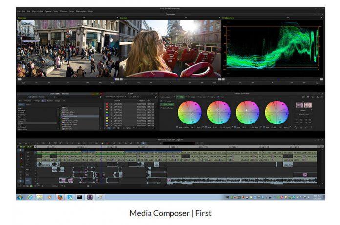 screenshot of video editing software interface