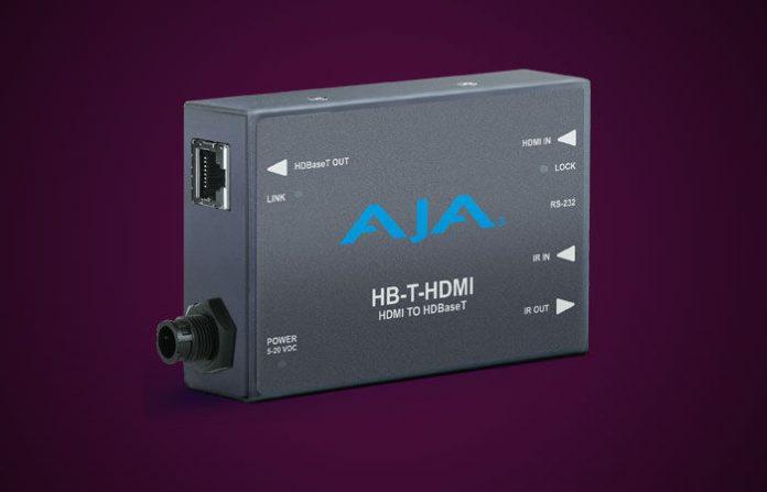 The AJA HB-T HDMI
