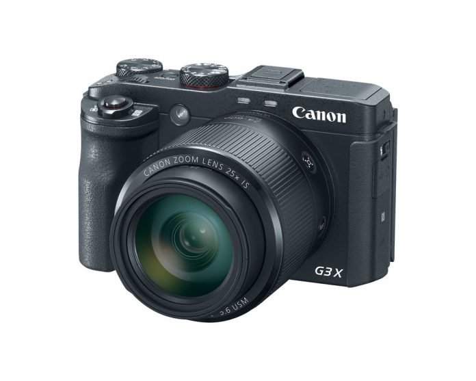 The Canon PowerShot G3 X compact camera