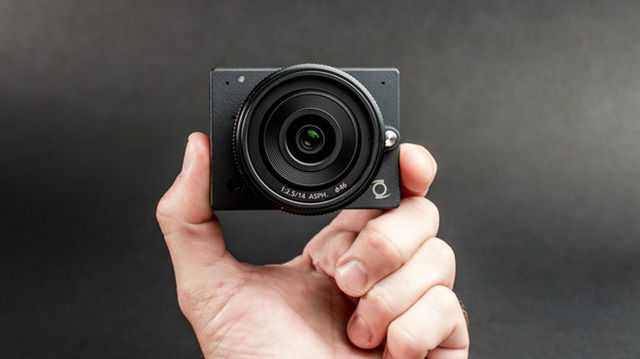 The E1 is a small form factor 4K camera