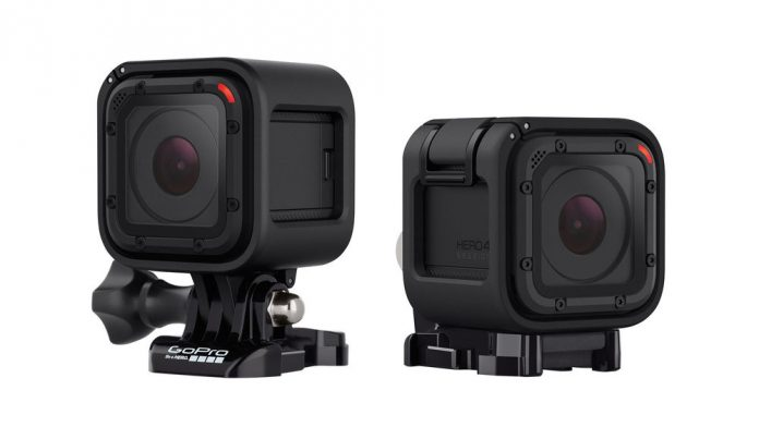 The GoPro HERO4 Session 1080p Action Camera