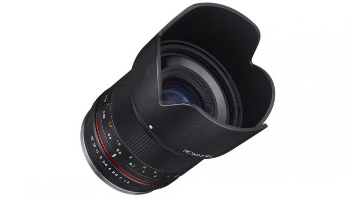 Rokinon 21mm F1.4 ED AS UMC Compact High Speed Wide Angle lens