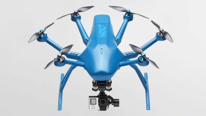HEXO+ the world's first autonomous drone