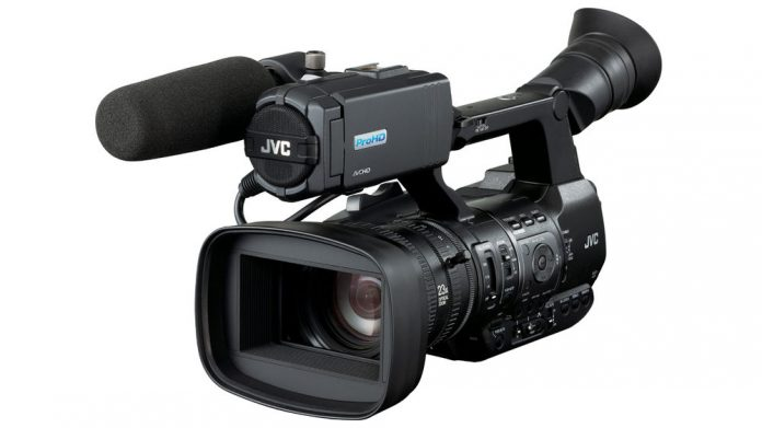 JVC GY-HM650SC ProHD camcorder