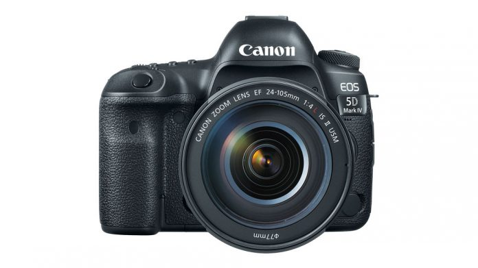 Canon 5D Mark IV with EF 24-105mm Lens