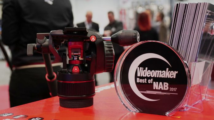 Manfrotto Nitrotech N8 Head with Award