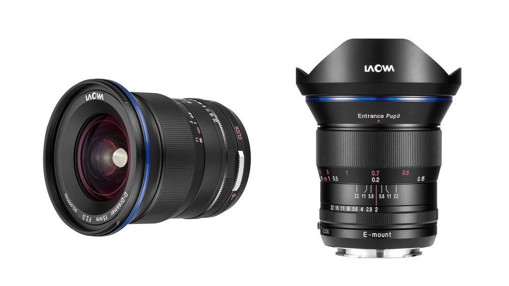 Venus Optics Adds Laowa 15mm f/2 FE Zero-D Full Frame E-mount Lens ...