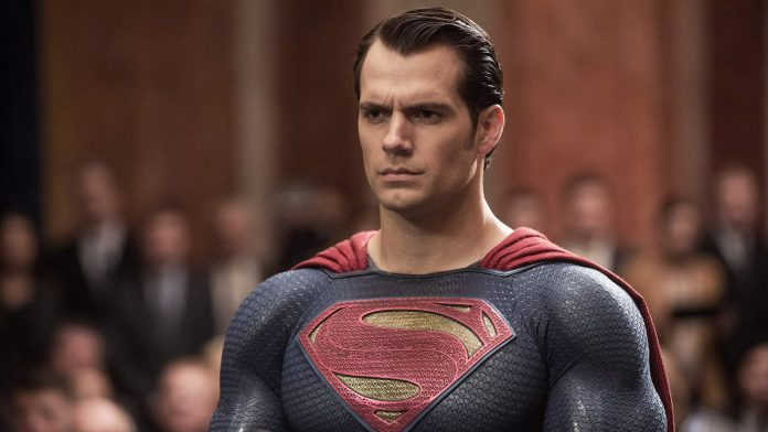 An Image of Henry Cavill acting as Superman