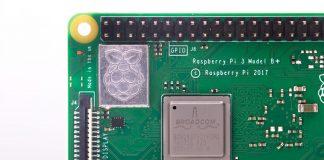 Close image of Raspberry Pi 3