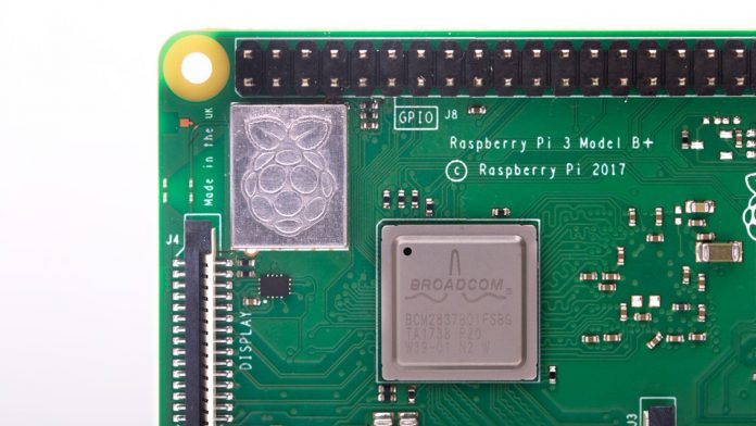 Close image of Raspberry Pi 3