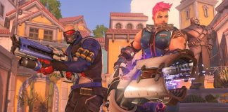 Screenshot from the video game Overwatch