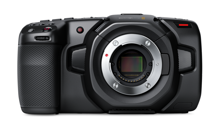 Blackmagic Pocket Cinema Camera 4K without lens