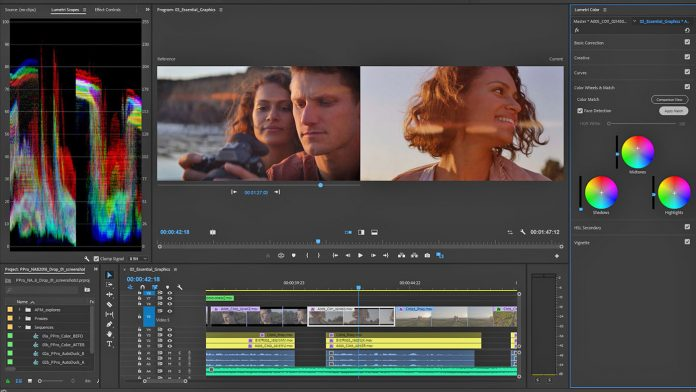 Premiere Pro CC screenshot