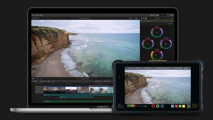 Screen shot inside of Final Cut Pro X